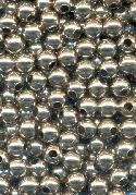 4mm Silver Metal Beads