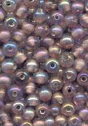 4mm Light Amethyst AB Glass Bead