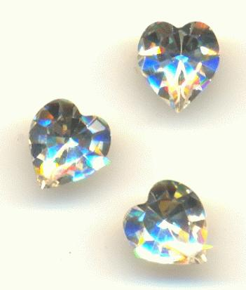 speical offer modern design high quality materials 6.6x6mm Swarovski Crystal Heart RS