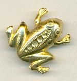 26x27mm GP Frog Brooch