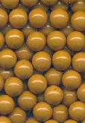 6mm Harvest Gold Plastic No Hole Beads