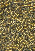 2mm Brass Crimp Bead Tube