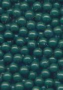 4mm Dark Green Plastic No Hole Beads