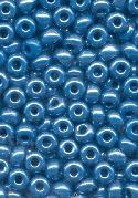 06/0 Blue Lustered Seed Beads