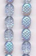 10x5x7.5x5mm Light Sapphire AB Beads