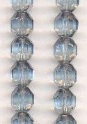 10mm Indian Sapphire/Luster Glass Beads