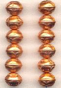 13x10.5mm MP Copper Colored Beads