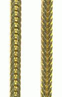 4.2mm Brass Herringbone Chain