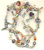 Pressed Glass Beads - Mixed Luster