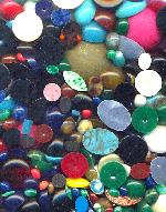 Mixed Lot Acrylic Flat Back Stones