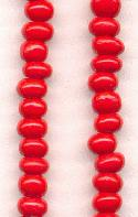 05/0 Red Seed Beads