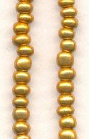 06/0 Antique Gold Seed Beads