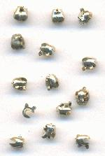 3mm Silver Pin Catches