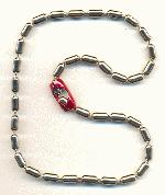 16'' Steel Ball Chain