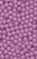 3mm Purple Acrylic No-Hole Beads