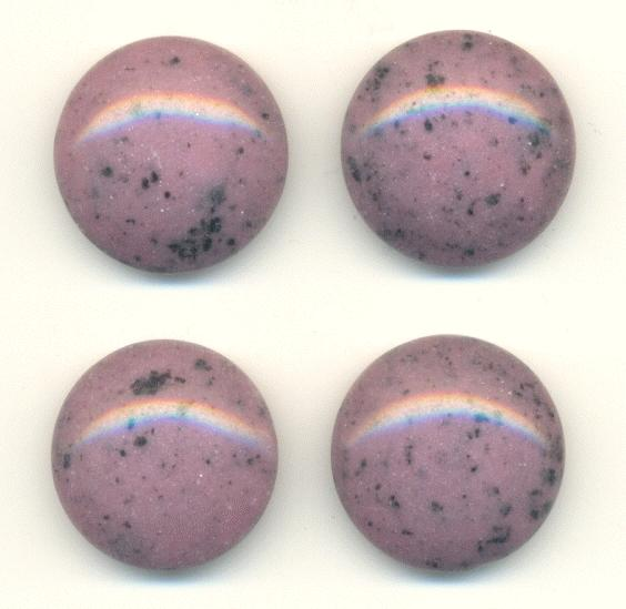 Light Purple Marble : Mm light purple spotted stone jan s jewelry supplies