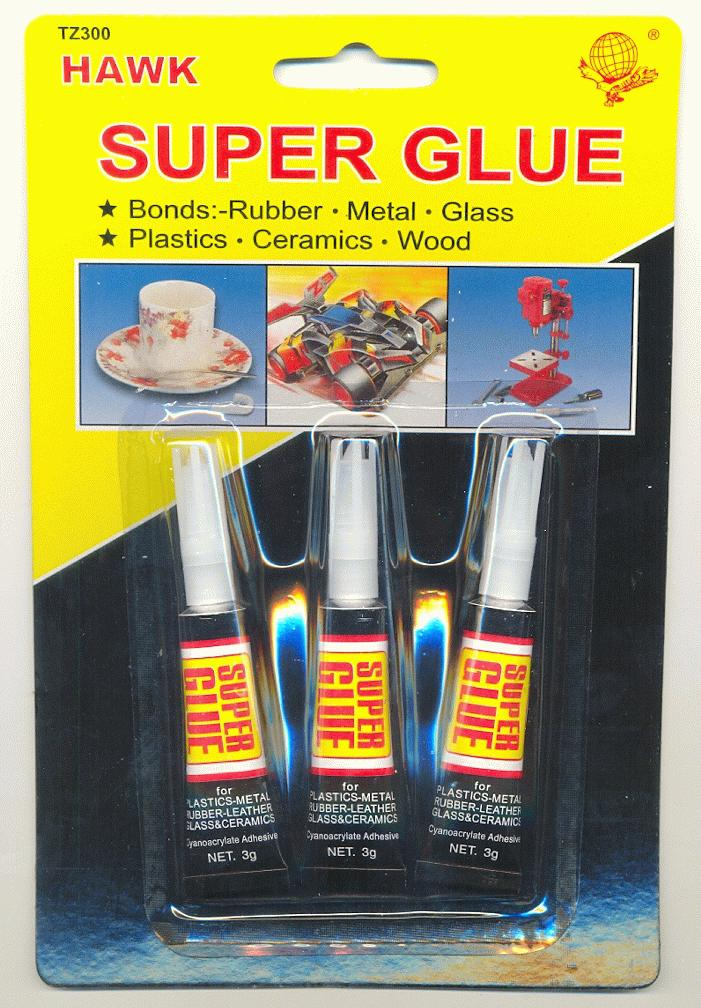 super glue 3 pack jan 39 s jewelry supplies. Black Bedroom Furniture Sets. Home Design Ideas