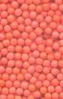 3mm Coral Glass No Hole Beads