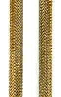 7.5mm Brass Mesh Chain