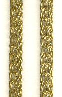 6mm Brass Round Mesh Tube Chain