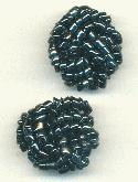 22mm Hematite Bead Embellishment