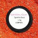 Crystal Clay Copper Sparkle Dust
