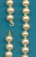 Bracelet w/ 6mm Pearl Beads