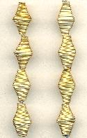 15x9mm Brass Wire Beads