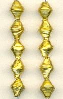 11x9mm Brass Wire Beads