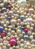 Mixed Opaque Pearls