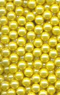 5mm Pearl Yellow No-Hole Bead