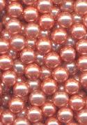 5.9-6.1mm Pink No Hole Pearl Beads