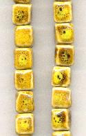 10-11mm Square Ceramic Beads