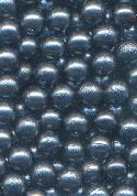 5mm Dark Blue No-Hole Beads