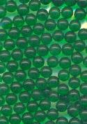 3.6mm Emerald Glass No Hole Beads