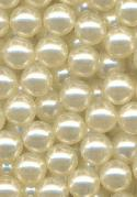 6mm Off-White No Hole Pearls