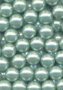 6mm Mint Green No Hole Pearls