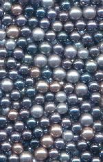 4.9-6mm Mixed Lot Blue Pearls