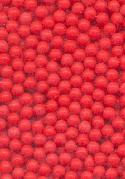 2.6mm Glass Red No Hole Beads
