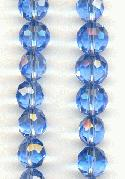 8mm Faceted Sapphire Beads