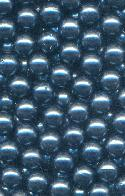 5mm No Hole Dark Blue Pearl Beads