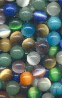 10mm Mixed Lot No Hole Beads