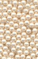 4mm Ivory Pearl No Hole Bead