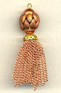 3 5/8'' Copper Coated Steel/Brass Tassel