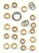 Silver/Brass Mixed Jump Rings