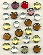 18-20mm Mixed Transparent Glass Stones