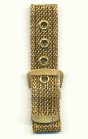 18.5mm Wide Brass Mesh Bracelet