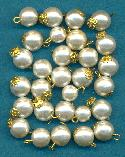 7.6-11.7mm Mixed Looped Pearl Beads