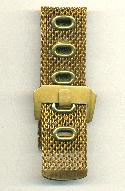 25.45mm Wide Brass Mesh Bracelets