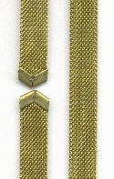10 3/4'' by 8mm Wide Mesh Choker Chain